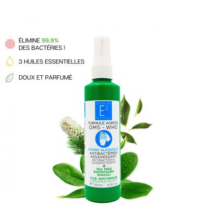 Solution Hydroalcoolique aux huiles essentielles - 200 ml